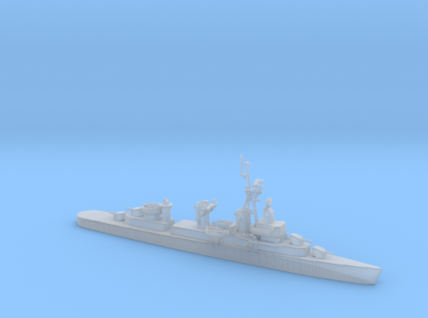 1/1250 Scale 4 Gun Fletcher Destroyer 1950