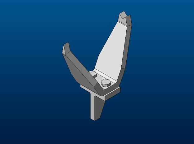 Panther A/G Turret Sighting Vane Upgrade in Smoothest Fine Detail Plastic