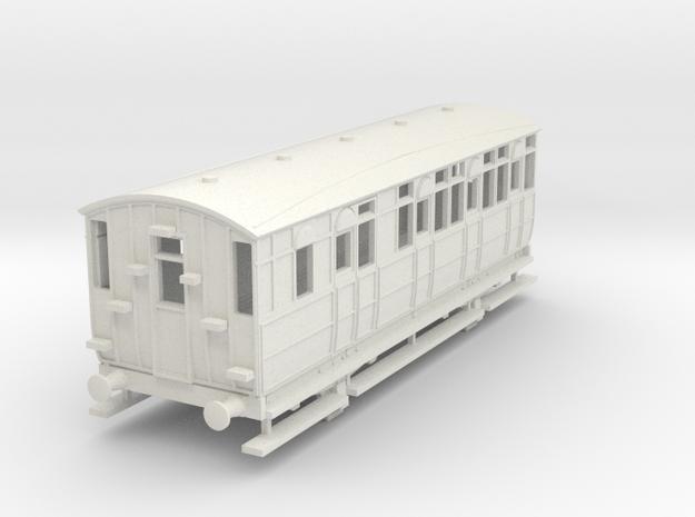 0-87-mslr-jubilee-brake-3rd-coach-1 in White Natural Versatile Plastic