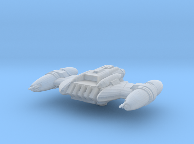 B-wing Strike Pirate  in Smoothest Fine Detail Plastic
