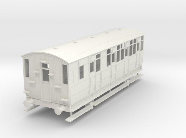 0-43-mslr-jubilee-brake-3rd-coach-1 in White Natural Versatile Plastic