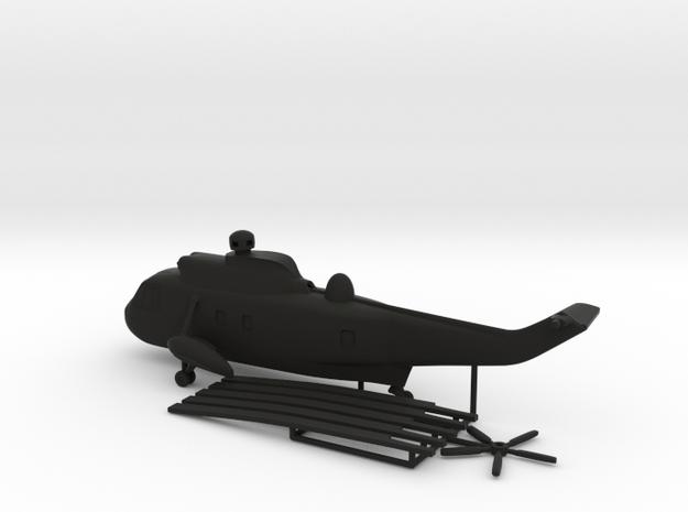 Westland WS-61 Sea King in Black Natural Versatile Plastic: 1:200