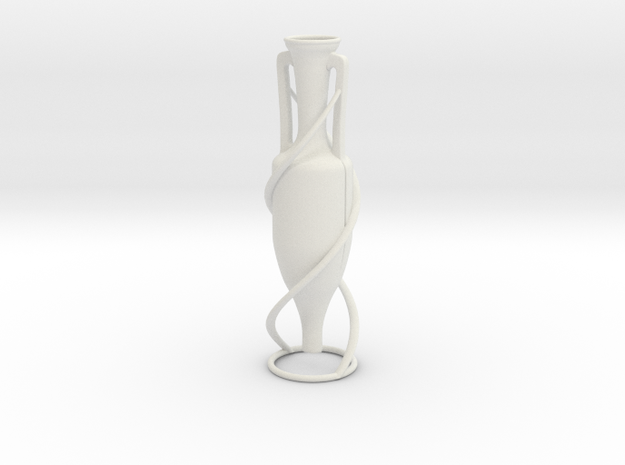 Vase 743AFR in White Natural Versatile Plastic
