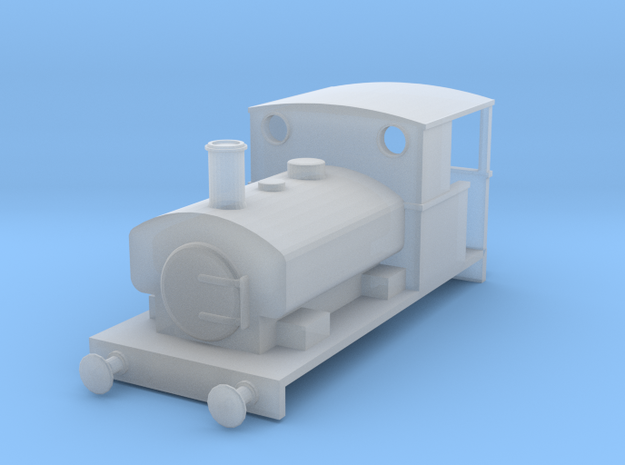 N gauge Andrew Barclay 0-4-0ST in Smoothest Fine Detail Plastic
