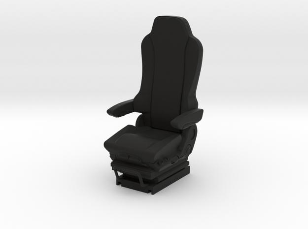 GRAMMER Truck seat 1/24 scale model kit in Black Natural Versatile Plastic