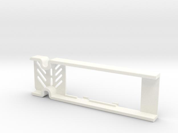 89 Qui-Gon CF  in White Processed Versatile Plastic