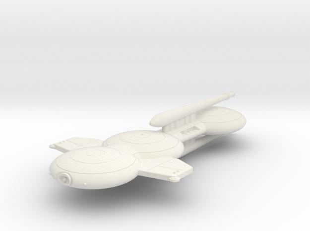 3125 Scale Gorn Tyrannosaurus Rex Dreadnought SRZ in White Natural Versatile Plastic