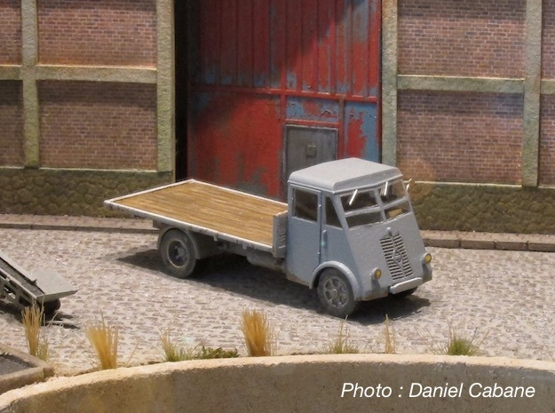 Renault AHN 1946 - HO 1:87 in Smooth Fine Detail Plastic