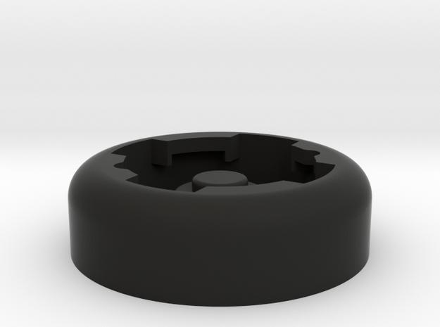 Lezyne K-edge in Black Natural Versatile Plastic