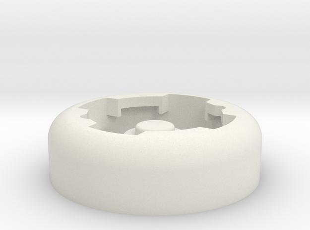 Lezyne X-Lock insert in White Natural Versatile Plastic