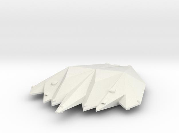 3125 Scale Singer Heavy Cruiser (CA) MGL in White Natural Versatile Plastic