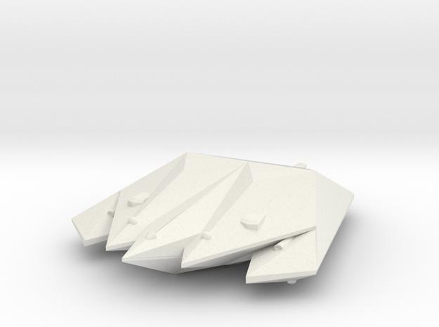 3788 Scale Singer Destroyer (DD) MGL in White Natural Versatile Plastic