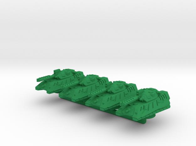 Sultur Medium Hover Armor - 3mm in Green Processed Versatile Plastic