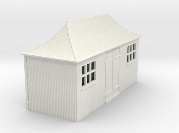 z-64-gwr-pagoda-shed-1a in White Natural Versatile Plastic