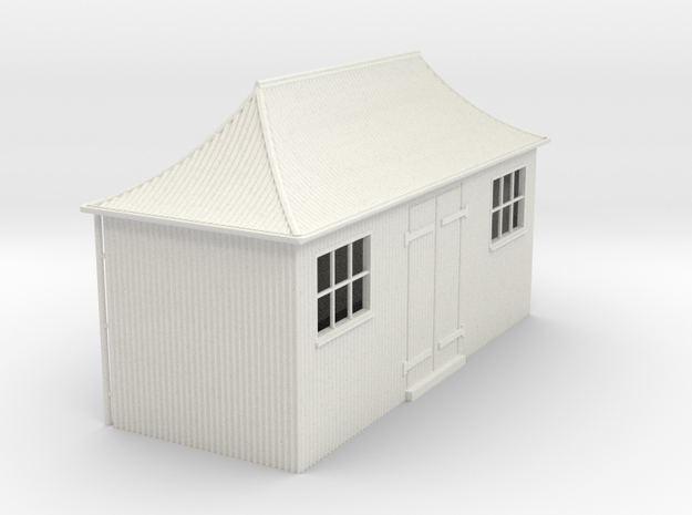 z-32-gwr-pagoda-shed-1 in White Natural Versatile Plastic