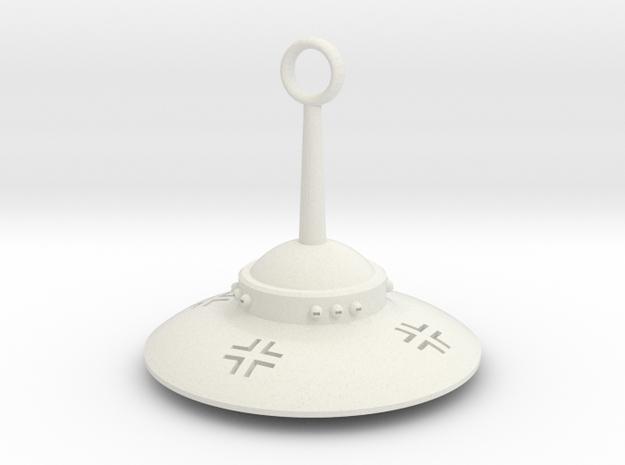 Haunebu ll 2 Pendant in White Natural Versatile Plastic