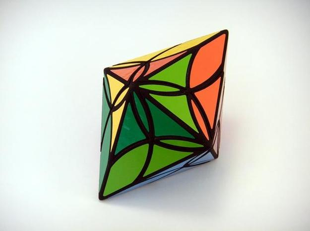 Diamond Delight Puzzle 3d printed One Turn