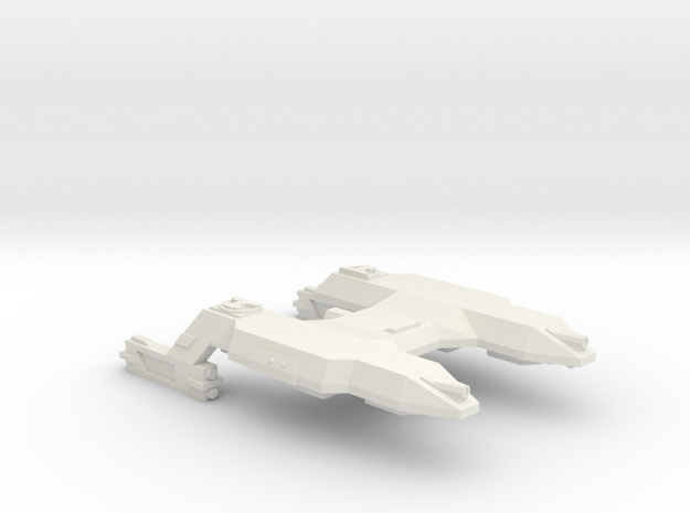 3788 Scale Lyran Saber-Tooth Tiger Mauler Cruiser in White Natural Versatile Plastic