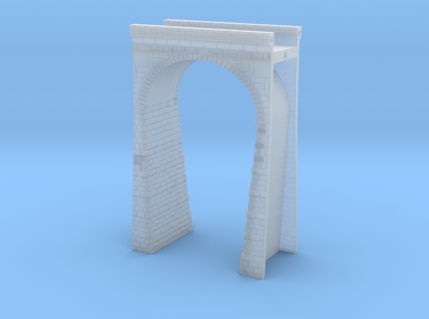 T-scale Stone Viaduct Section - 45mm Straight