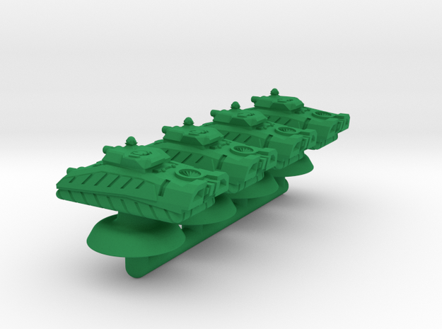 Ipabog Light Hover Armor - 3mm in Green Processed Versatile Plastic
