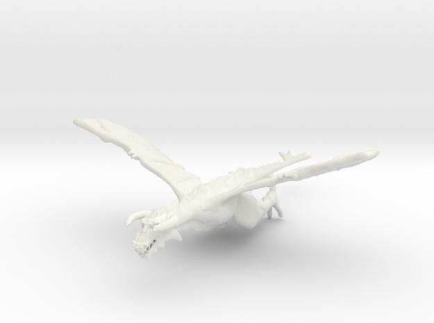 Omni Scale Space Dragon Old Male MGL in White Natural Versatile Plastic