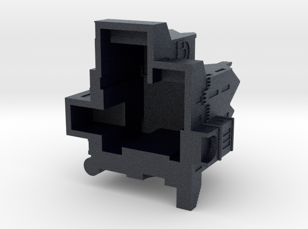Elgin Tower in Black Professional Plastic