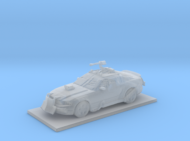 Mustang Alternative in Smooth Fine Detail Plastic
