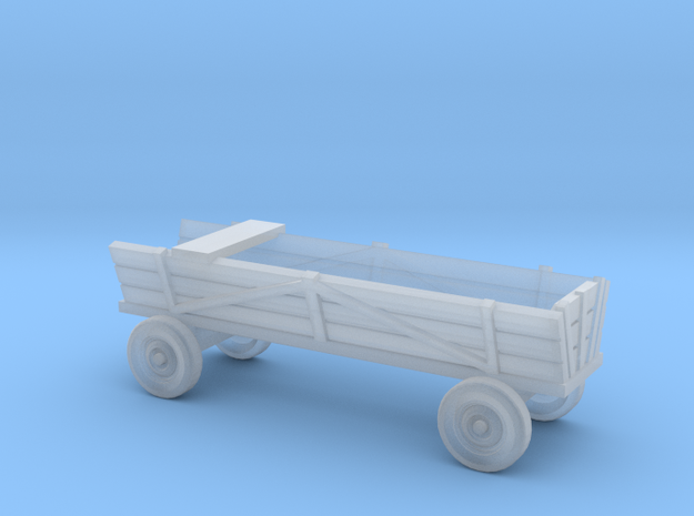 Horse-drawn carriage 1:220 in Smoothest Fine Detail Plastic