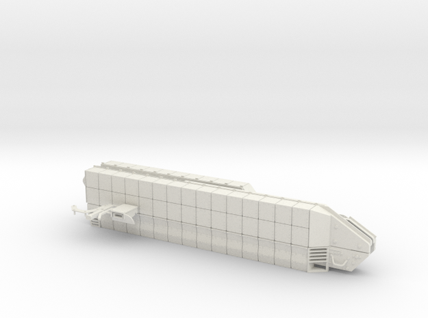 1:18 BUSK III CHASSIS KIT in White Natural Versatile Plastic