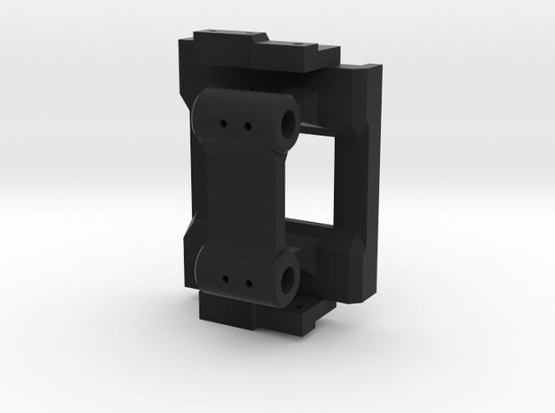 Rear hinge mount for Mojave body on CMAX in Black Natural Versatile Plastic