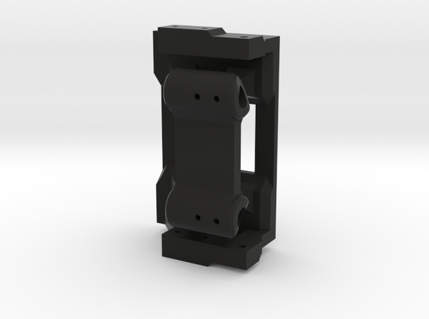 Rear hinge mount for Blazer body on CMAX in Black Natural Versatile Plastic
