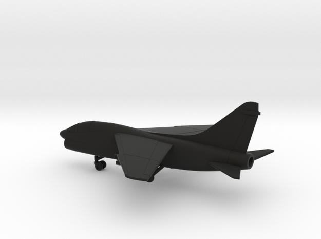 Vought LTV TA-7C Corsair II in Black Natural Versatile Plastic: 1:200