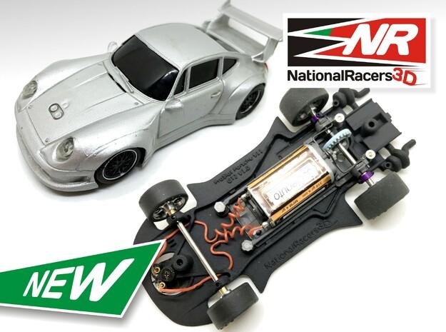 3D Chassis - ProSlot Porsche 911 GT2 (Combo)