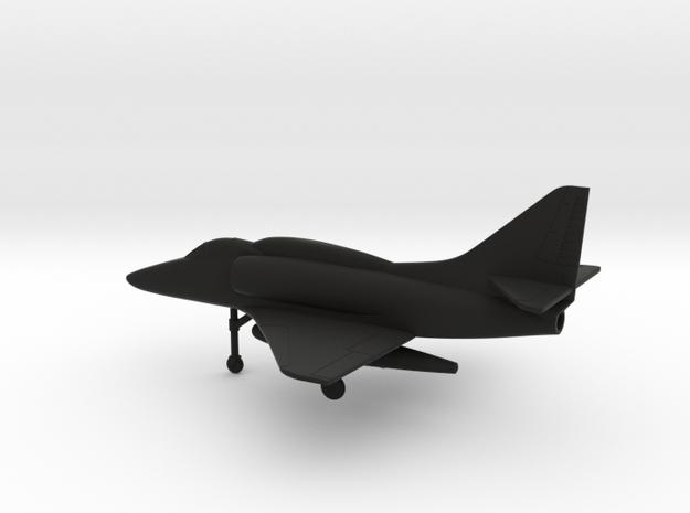Douglas A-4F Skyhawk in Black Natural Versatile Plastic: 1:160 - N
