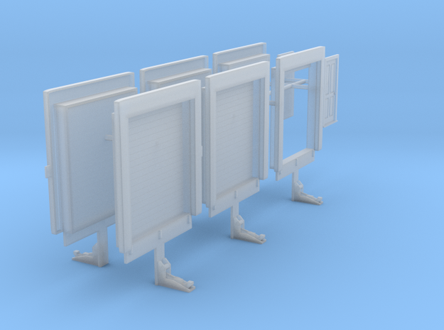 1/87th Truck or warehouse loading doors