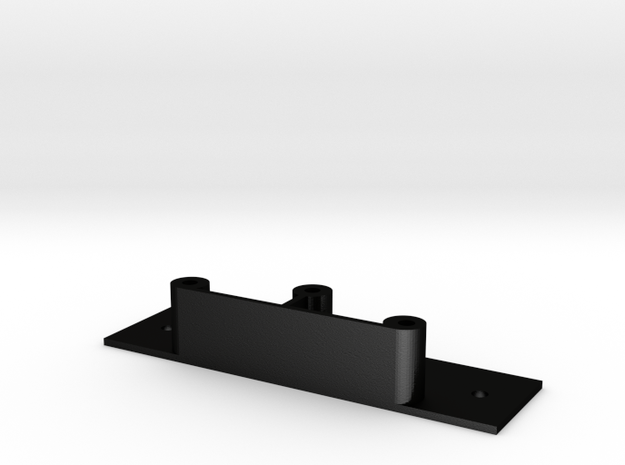 JRM1212S-2A Mount in Matte Black Steel