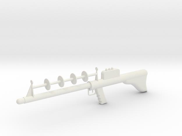 Lost in Space Season 1 Laser Rifle 1/6 1:6 Scale in White Natural Versatile Plastic