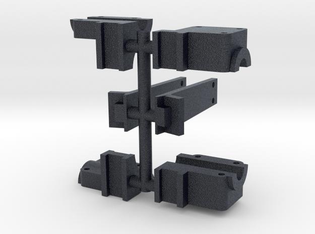119 rocker arm mount & boiler brace in Black PA12