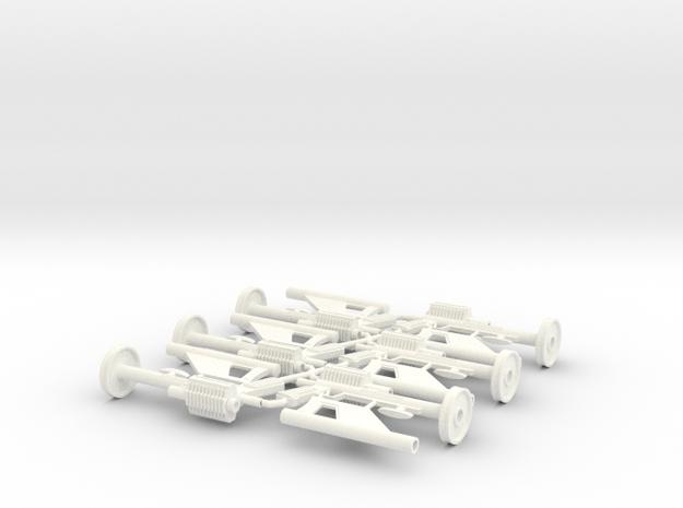 1/6 LIS rifle no emitter X6 processed in White Processed Versatile Plastic