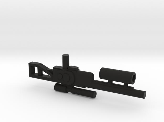 Transformers Titans Return Perceptor Rifle Gun in Black Natural Versatile Plastic