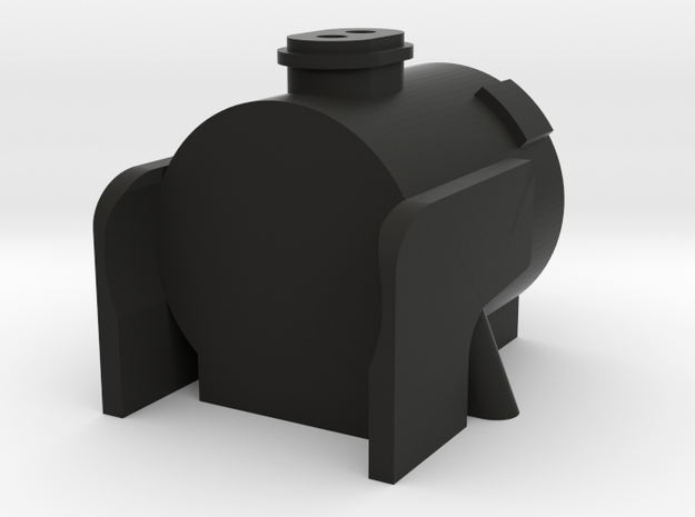 TWR A1 Peppercorn Smokebox in Black Natural Versatile Plastic