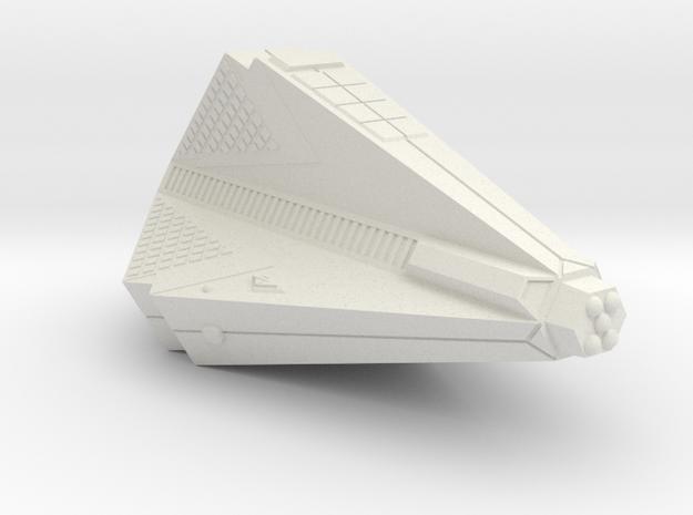 3125 Scale Tholian Heavy War Destroyer (HDW) SRZ in White Natural Versatile Plastic