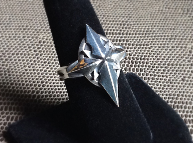 North Star Cross Ring - Size 8 (18.14 mm)