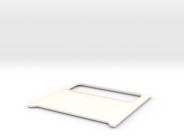 Daycab Panel for Italeri Peterbilt in White Processed Versatile Plastic