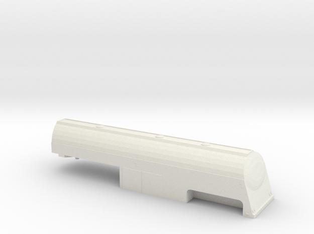 1/32 1955  Tanker Trailer Shell in White Natural Versatile Plastic