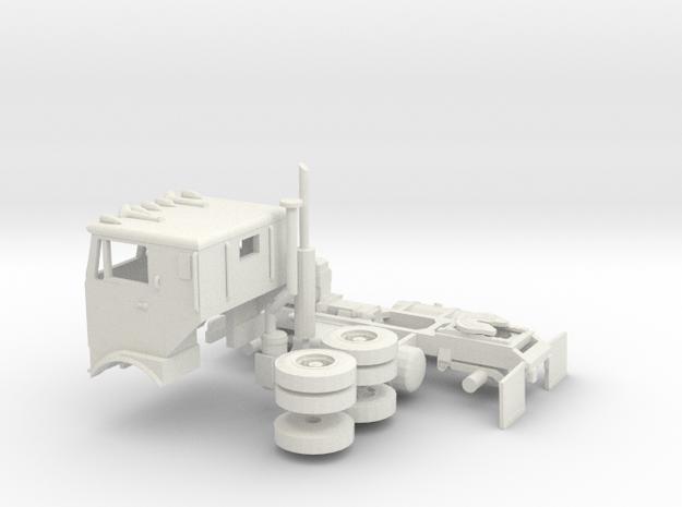 1/50 GMC Crackerbox in White Natural Versatile Plastic