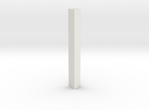 Pixel Prism Core in White Natural Versatile Plastic