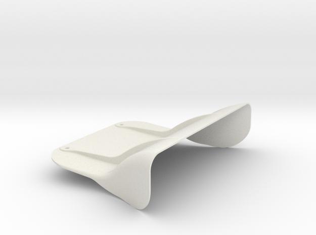 Airscoop in White Natural Versatile Plastic