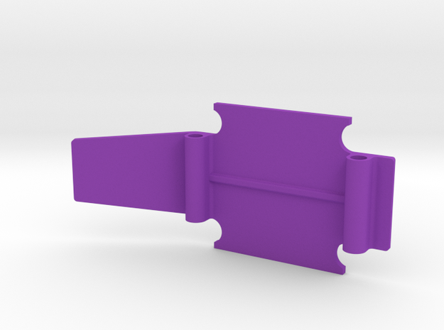 skid long 3D for  Public Enemy crawler in Purple Processed Versatile Plastic