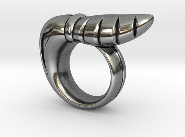 Chrysalis Ring 3 - Size 9 (18.95 mm) in Antique Silver